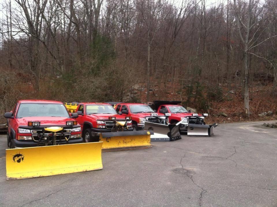 KC's line of snow trucks